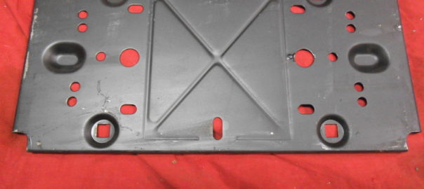 NOS GM Front license plate bracket various models | Potomac Classic