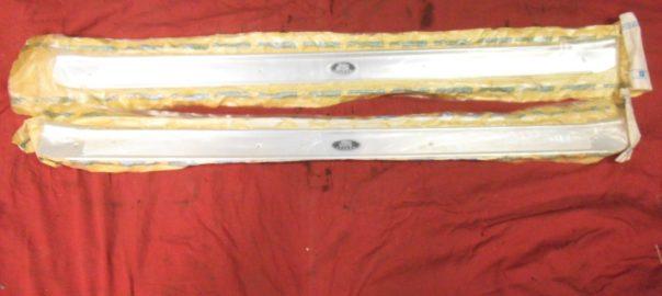 NOS 1968-72 GTO LeMans sill plates | Potomac Classic Pontiac